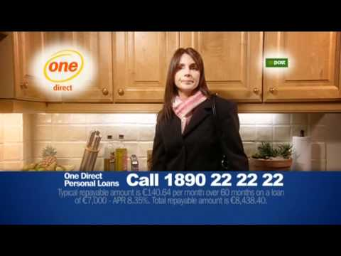 Irish ad: One Direct Personal Loans (2007)