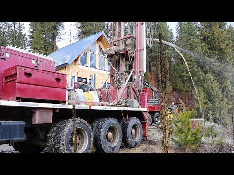 We DRILLED A WELL & You'll Never Believe What Happened