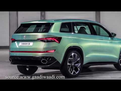 Skoda's Vision-S || A vision of Fully Electric Car