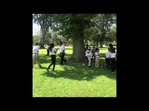 KIPP Blytheville College Preparatory School cleaning up Walker Park