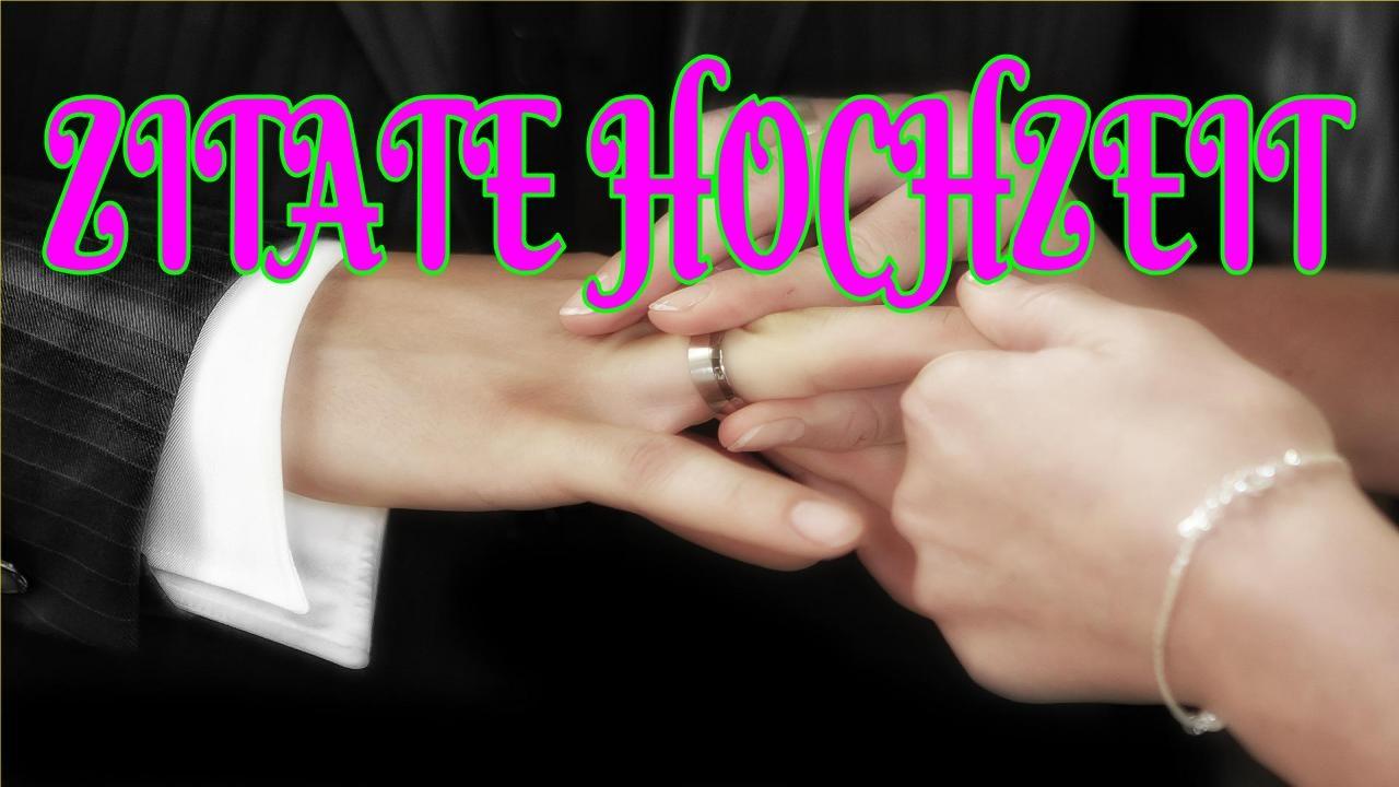 Zitate Hochzeit