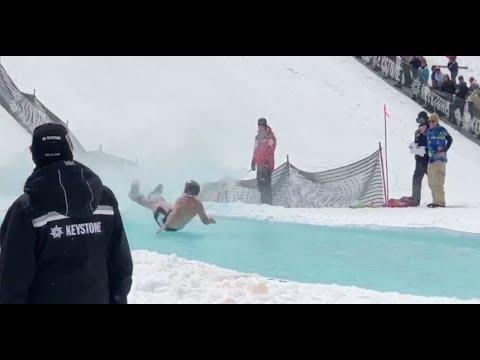 Slush Cup Competition - Keystone Ski Resort - Apr 8, 2018