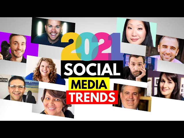 Social Media Trends 2021 - What These Top YouTubers Say You MUST Focus On in 2021!