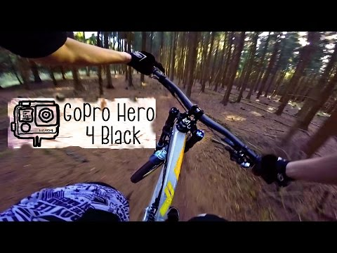 GoPro Hero 4 Black Test I Downhill Mountain Biking