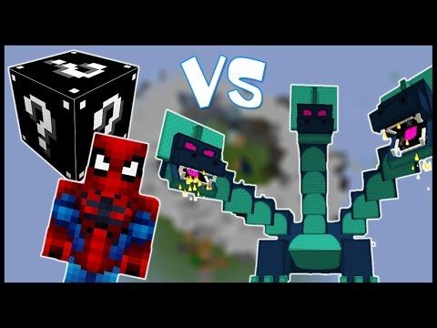 видео: Чёрный Лаки Блок & Человек-Паук VS Гидра! - Лаки Битва #5