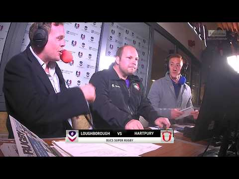LIVE BUCS SUPER RUGBY: Loughborough v Hartpury 04OCT17
