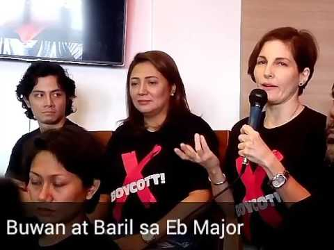 Buwan at Baril sa Eb Major (Media Conference)