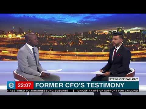 Former Steinhoff CFOs testimony