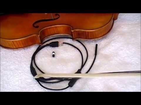 Advanced violin sound post setting
