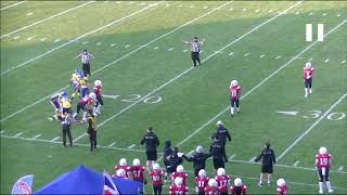 IFAF Training Tape 2021 1 Defensive pass interference Cut off