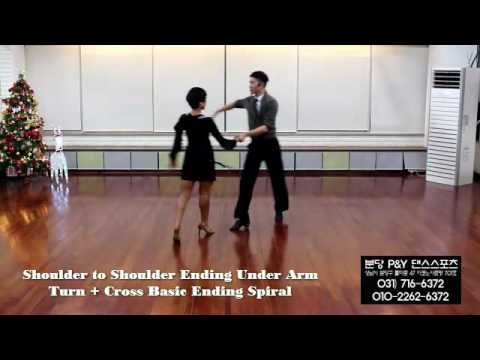 Cha cha cha - Shoulder to Shoulder + Cross Basic