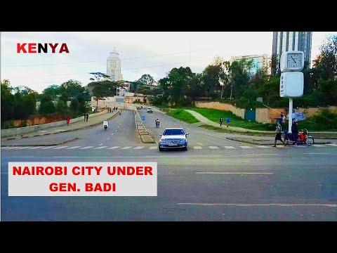 Nairobi City Under General Badi of NMS Looks like Chicago & New York // African Traveller 2020