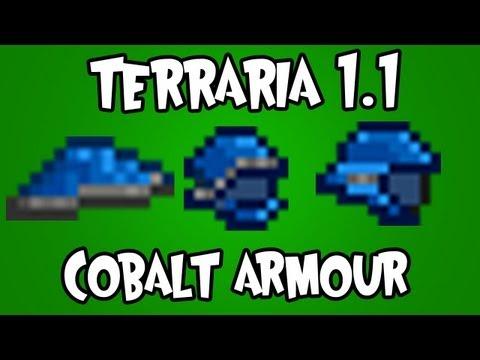 Terraria 1.1 - Cobalt Armour