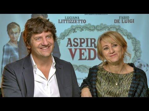 Video intervista a Fabio De Luigi e Luciana Littizzetto protagonisti di Aspirante vedovo