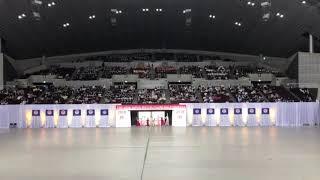 第46回バトントワーリング全国大会 2018.12.9 幕張メッセ 西山紀代美バトンスクールSPARKE 「カプリス」 thumbnail