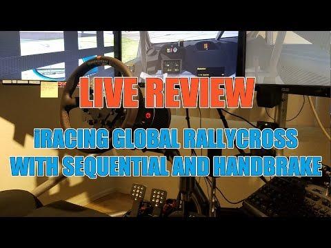 iRacing Global Rally Cross 2 - Handbrake and Sequential Shifter