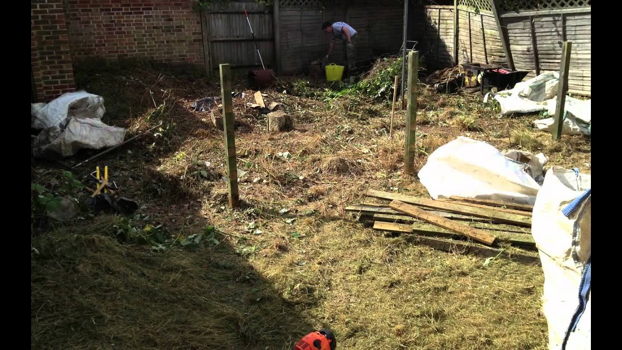 Langley Green, Crawley - Garden Clearance by Ayegardening - YouTube