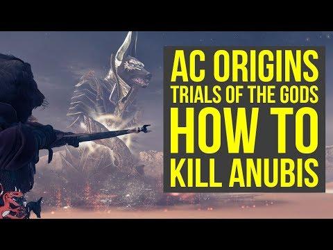 Assassin's Creed Origins Tips HOW TO DEFEAT ANUBIS - Trials of the Gods (AC Origins Tips And Tricks)