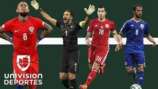 El Once Ideal de los que no van al Mundial: Gianluigi Buffon, Gareth Bale, Alexis Sánchez