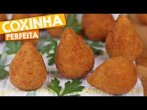 COXINHA   MASSA ESPECIAL DE COXINHA   Nandu Andrade