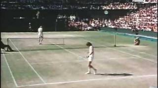 Bjorn Borg  Jimmy Connors Wimbledon 1977 Final