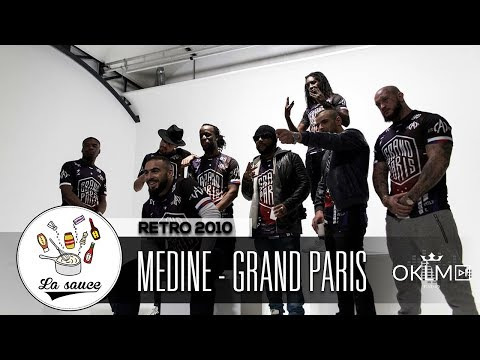 Youtube: Médine – Grand Paris – RETRO 2010 by Shkyd – #LaSauce sur OKLM Radio