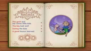 The Wolf and the Seven Little Kids | English Short Stories For Children | English Folk Tale