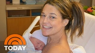 Savannah Guthrie Gives Birth To Baby Boy Charles Max Feldman! | TODAY