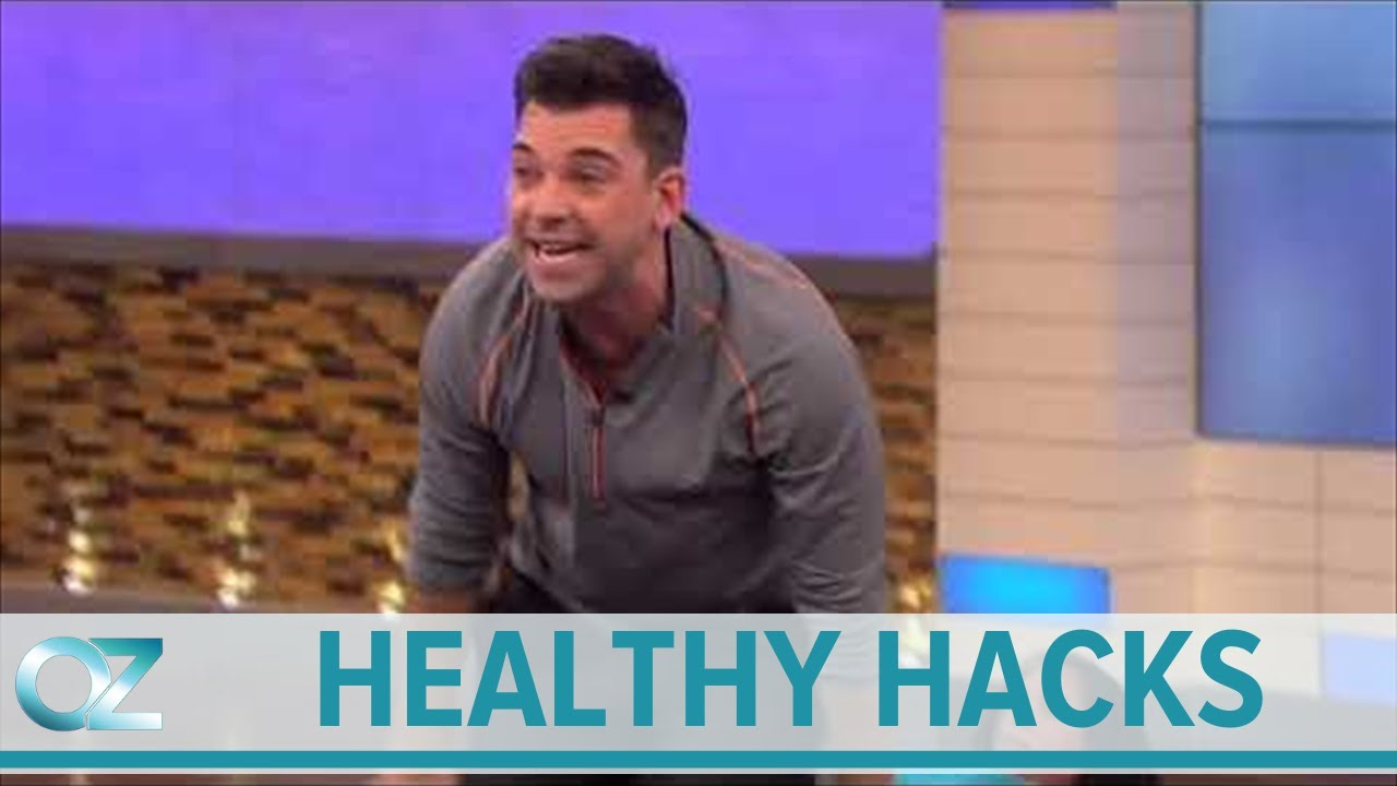 Try at Home Anti Aging Pilates Exercises Dr Oz's Healthy Hacks