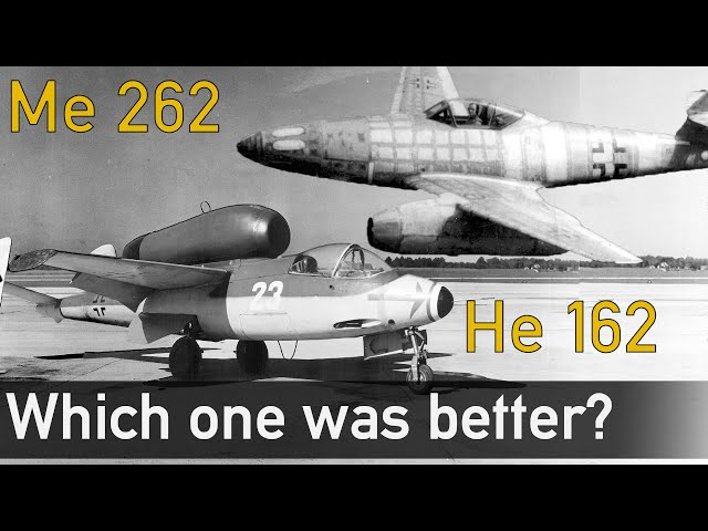 Me 262 VS He-162 - Which one was better?