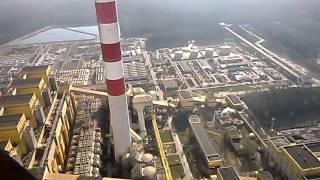 Elektrownia Bełchatów widok z komina nr 2