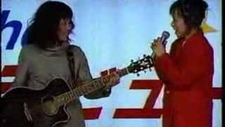 1998年 千葉テレビ「The デビュー」に出場した矢井田瞳このあと決勝大会...