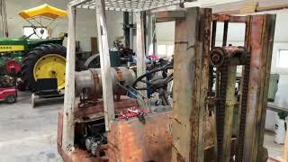 Toyota Forklift Water Pump Change