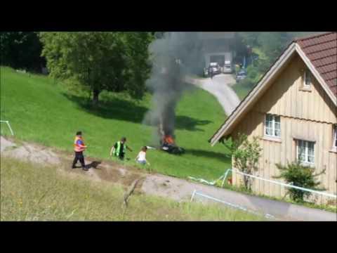 Richard Hammond crash hillclimb Hemberg 2017 first video