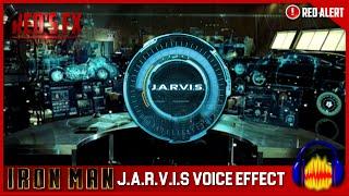 J.A.R.V.I.S Voice Effect Audacity Tutorial | Red