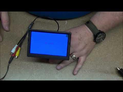 Padarsey 5 Inch TFT LCD Car Color Rear View Monitor 2