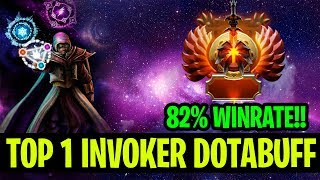 Top 1 Invoker Dotabuff With 82% Winrate!! - Chyuan Invoker - Dota 2