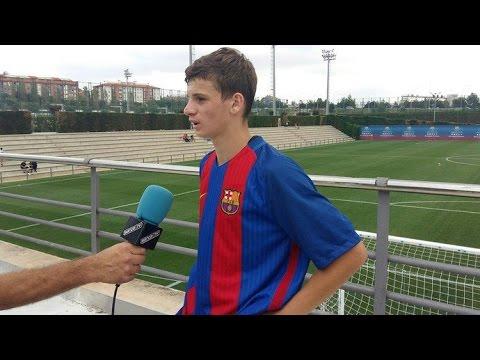 Labinot Kabashi (Barcelona Juvenil B) ● Kosovan Talent