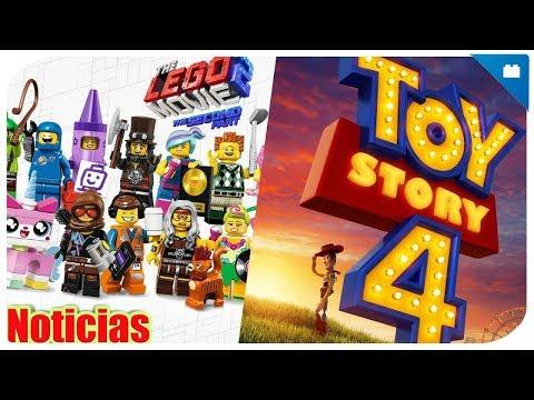 NOTICIAS: ¿Sets de Toy Story 4? - Serie de minifiguras de LEGO Movie 2 - Canción LEGO Movie 2.