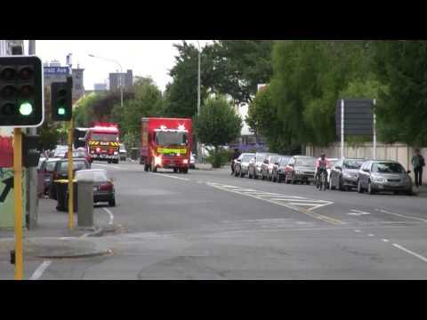 Christchurch 211, 214, 2116 And 217 Responding (HD)