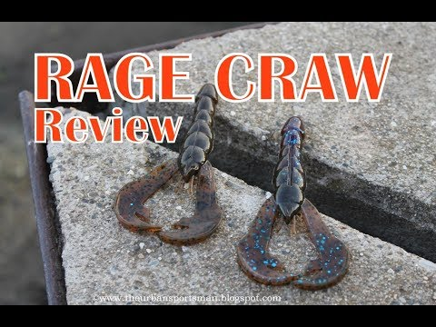 Strike King Rage Tail Craw Review (Underwater Footage!) - Tackle Review Tuesday