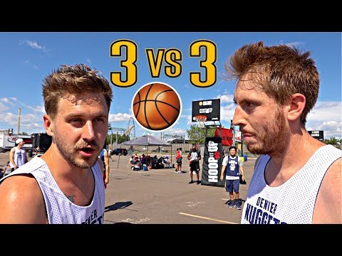 Getting DESTROYED In A Basketball Tournament!