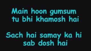 Jee Le Zaraa Lyrics HD)  Talaash ft. Vishal Dadlani _ Aamir Khan FULL Song