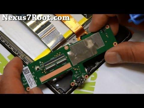 How to Disassemble New Nexus 7! (2013)