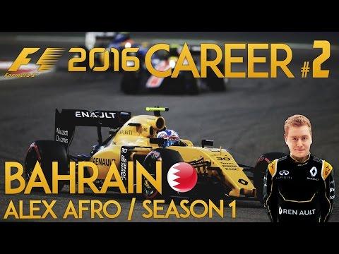F1 2016 Game Career Mode - Part 2 BAHRAIN GRAND PRIX (PS4 Gameplay)