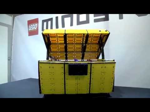 Treasure Chest with LEGO Elves by Anika - LEGO MINDSTORMS Inspiration