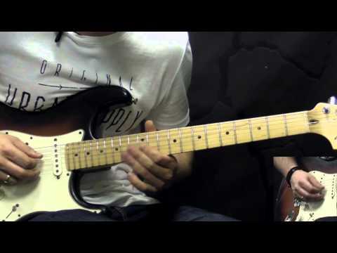 Jimi Hendrix - Purple Haze - Solo - Rock Guitar Lesson (w/Tabs)