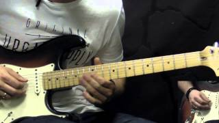 Jimi Hendrix Purple Haze Solo Rock Guitar Lesson W/tabs