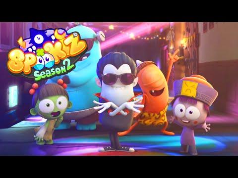 Spookiz | Halloween Special 2 - Trick or Treat! | Cartoons for Children 스푸키즈