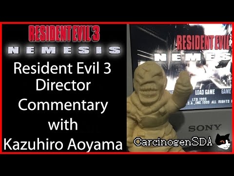 Resident Evil 3 Developer Commentary Playthrough with Director Kazuhiro Aoyama [ENG/日本語]